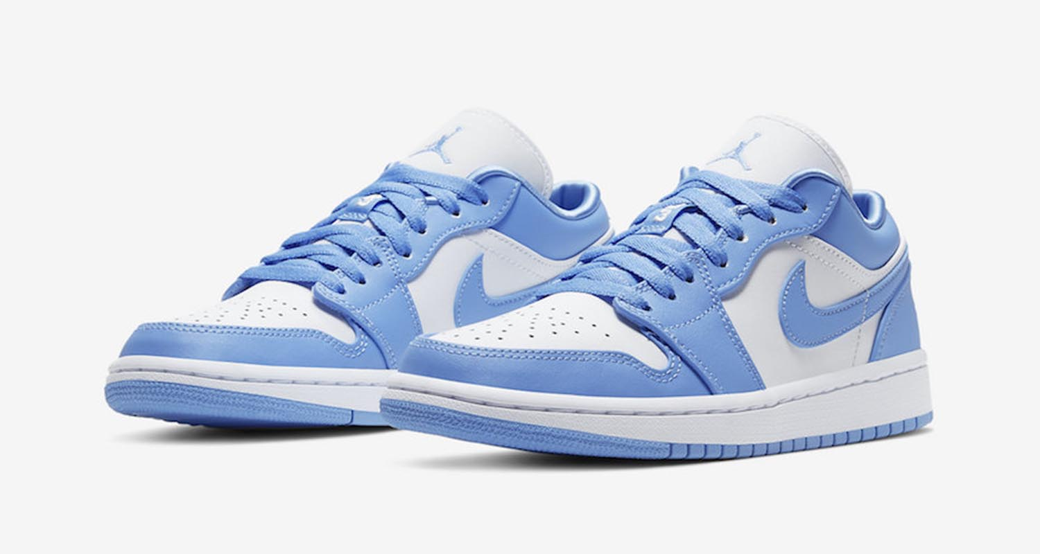 Air Jordan 1 Low UNC 2020 Retro Release Date AO9944-441 ...
