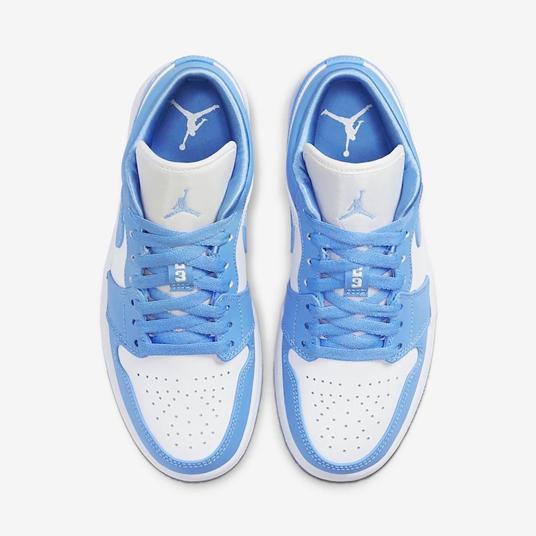 air jordan 1 low blue womens