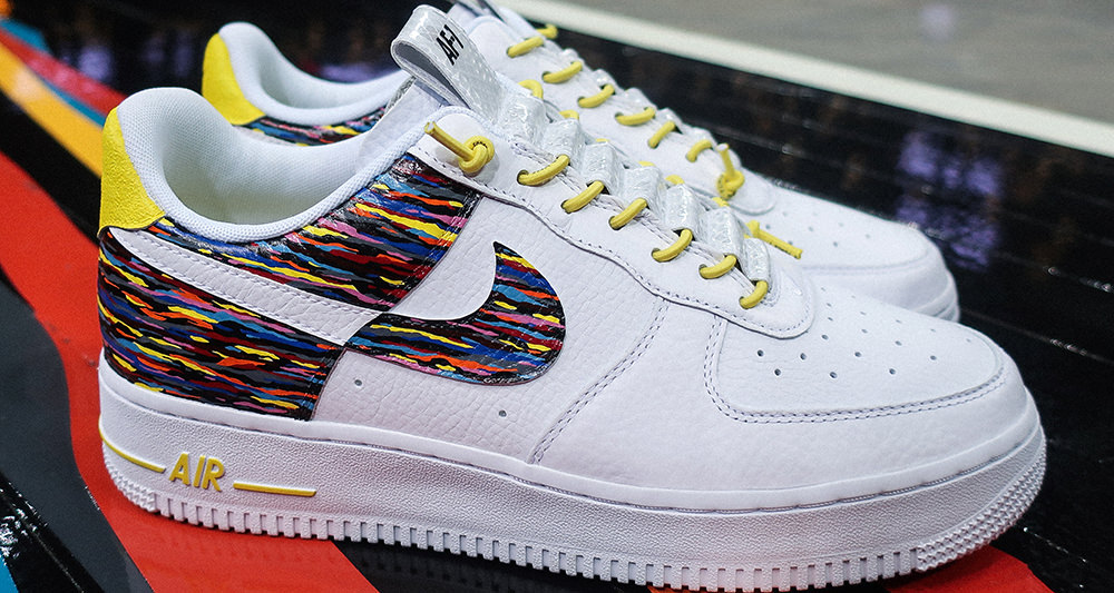 Custom Nike Air Force 1 is an Ode to