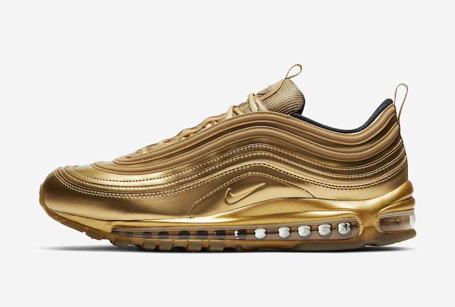 The Nike Air Max 97 is Going Gold Ahead of Tokyo Olympics