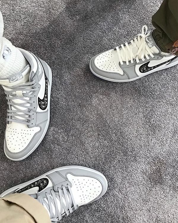 Dior x Air Jordan 1 On-Foot