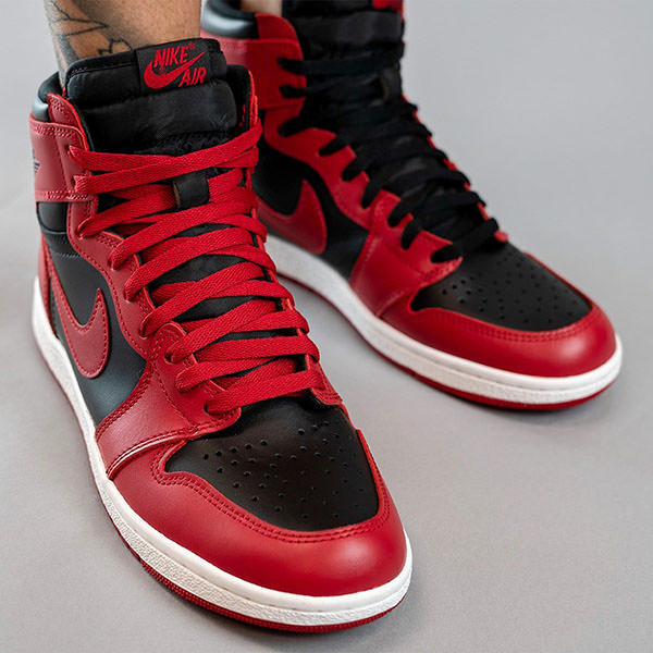 "Air Jordan 1 ""Varsity Red"" On-Foot"