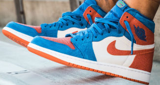"How the Air Jordan 1 ""Florida Gators"" PE Look On-Foot"
