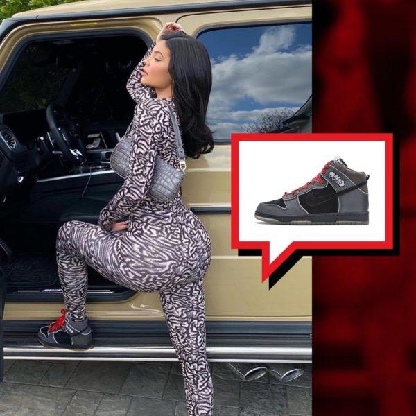 Kylie Jenner - Nike SB Dunk High MF DOOM
