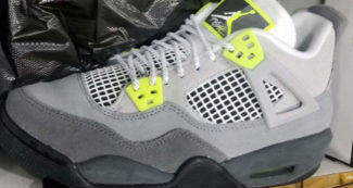 "First Look // Air Jordan 4 ""Neon Air Max 95"""