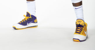 "Nike LeBron 7 ""Lakers"" PE Sample Surfaces - Retail Release?"