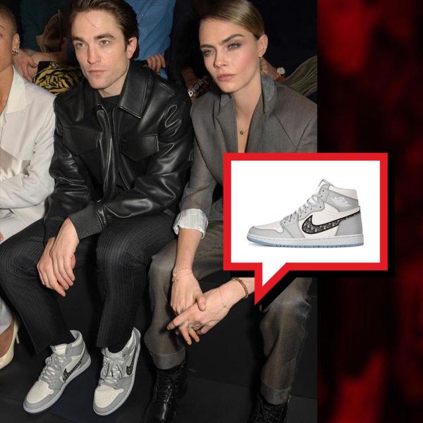 Robert Pattinson - DIOR x Air Jordan 1 High