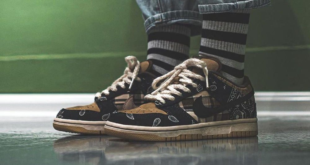 Travis Scott x Nike SB Dunk Low Cactus Jack