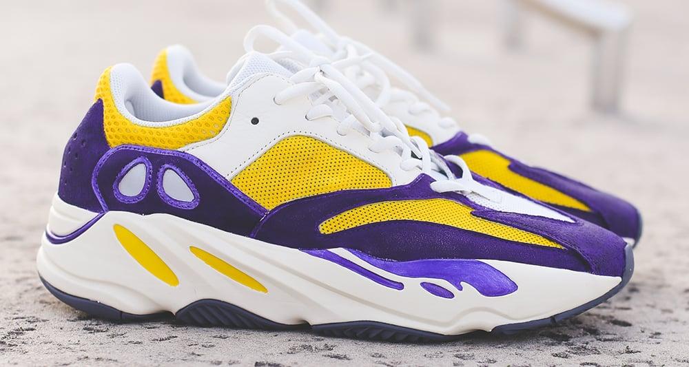 Custom adidas Yeezy 700 Gets a Lakers