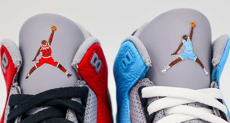 Custom Air Jordan 3 Pays Homage to Michael Jordan's Roots | Nice Kicks