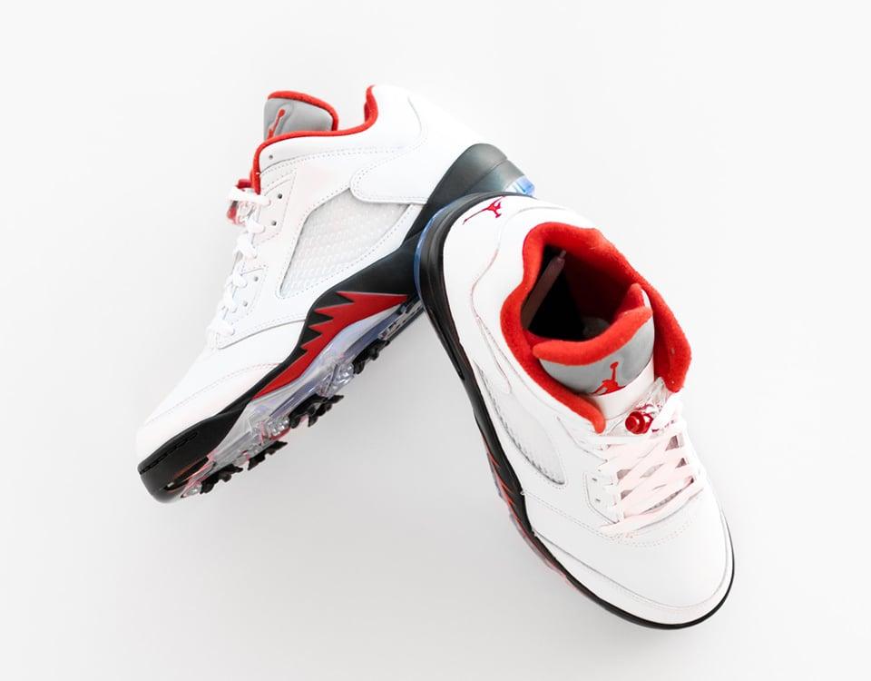 Available Now // Air Jordan 5 Low Golf