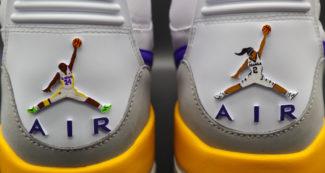 Custom Jordan 312 Honors Gigi and Kobe Bryant