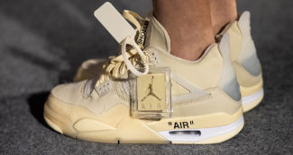 Virgil Abloh Debuts the OFF-WHITE x Air Jordan 4 During Paris Fashion Week