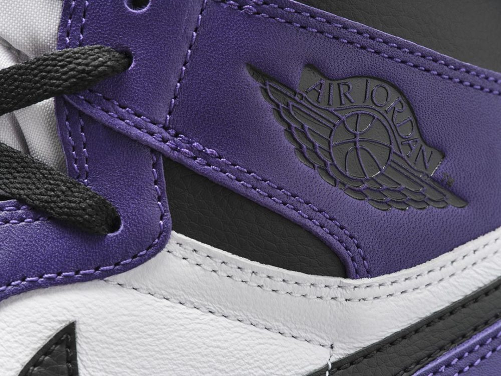 air jordan 1 court purple mujer
