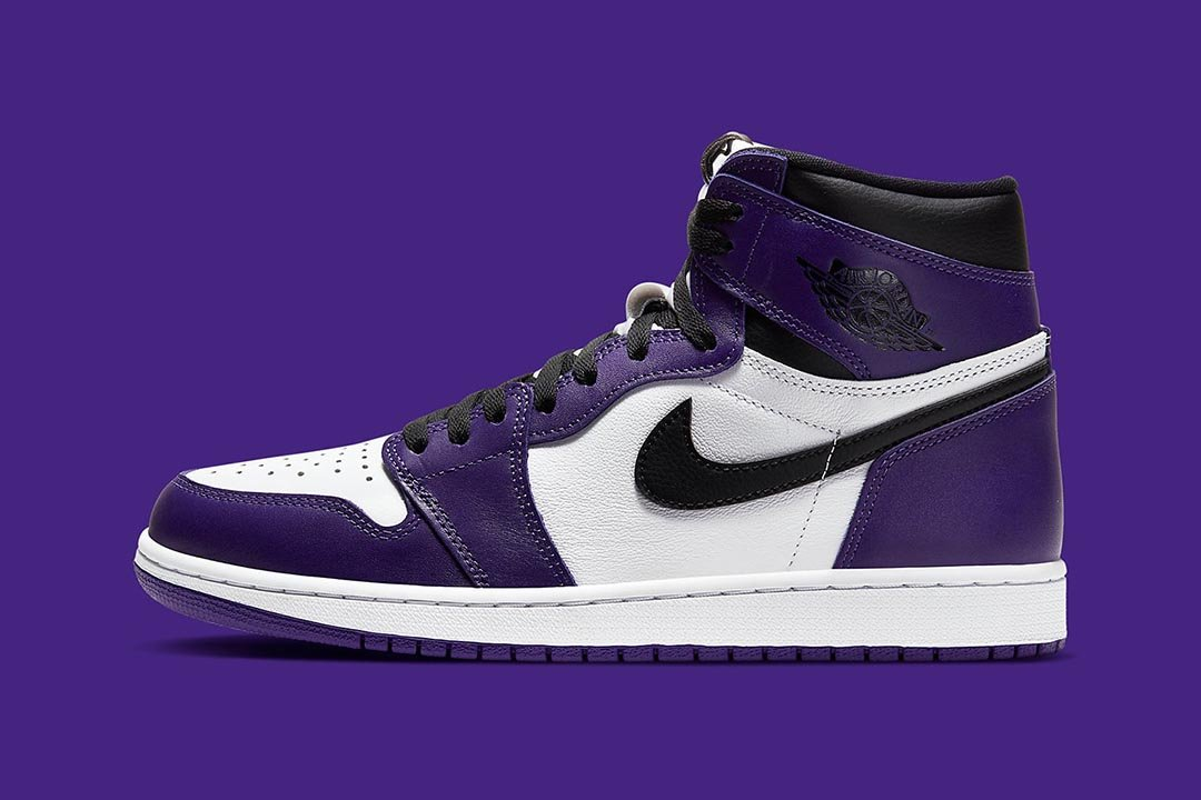 air jordan 1 court purple white