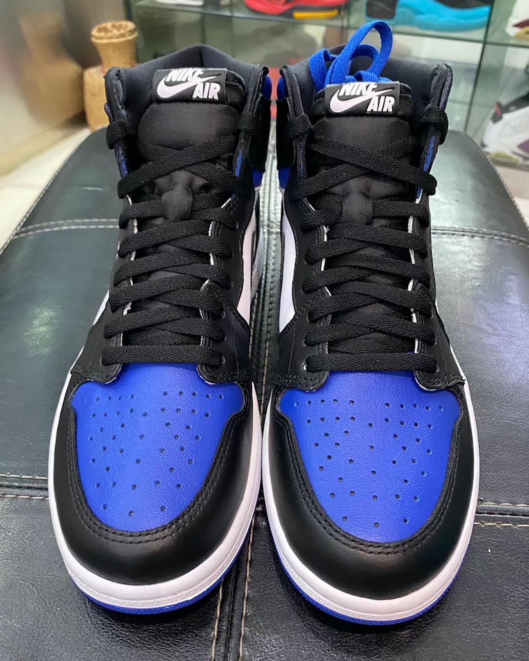 Air Jordan 1 Retro Hi Og Game Royal 55088 041 Release Date