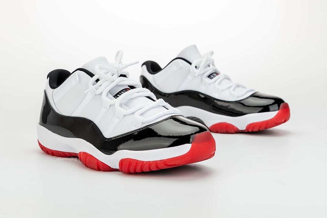 air-jordan-11-retro-low-white-bred-black-university-red-AV2187-160-release-date-12
