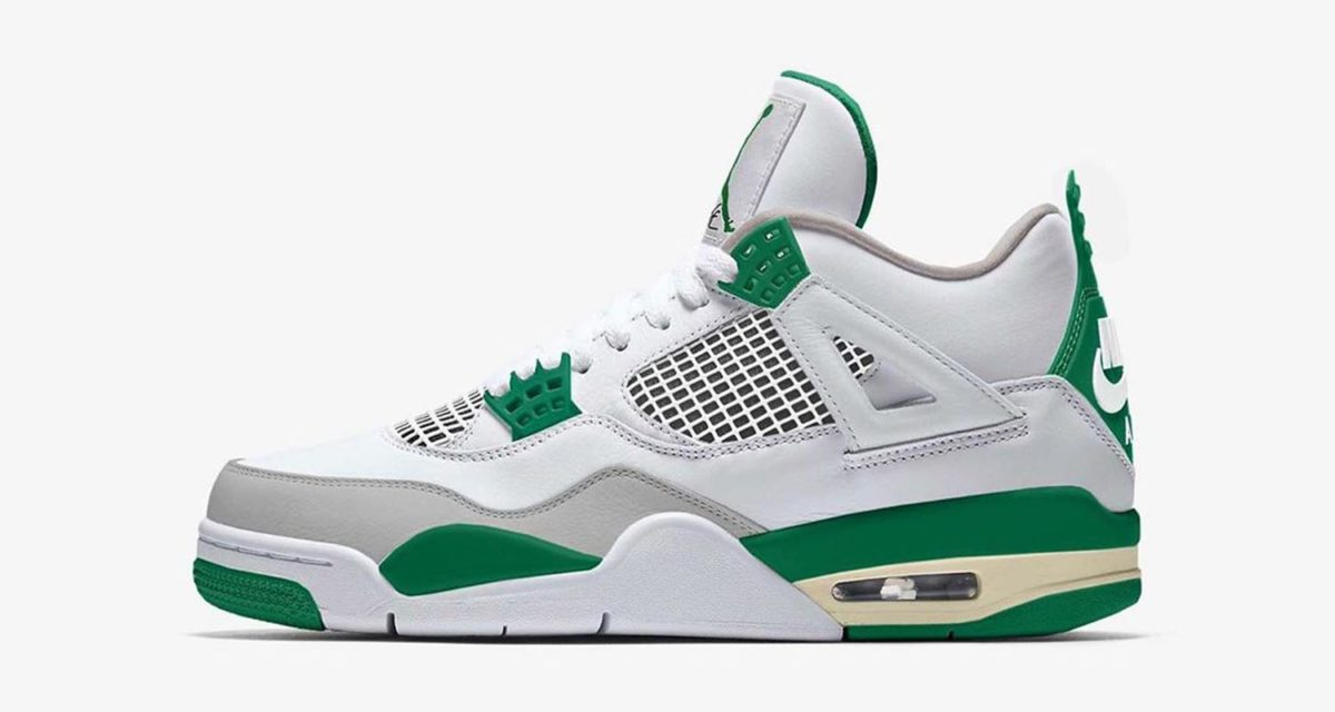 Air Jordan 4 Retro SP Summit White/Neutral Grey/Muslin/Pine Green CK6630-100