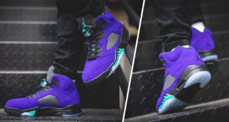 "The Air Jordan 5 ""Alternate Grape"" Releases Next Month"