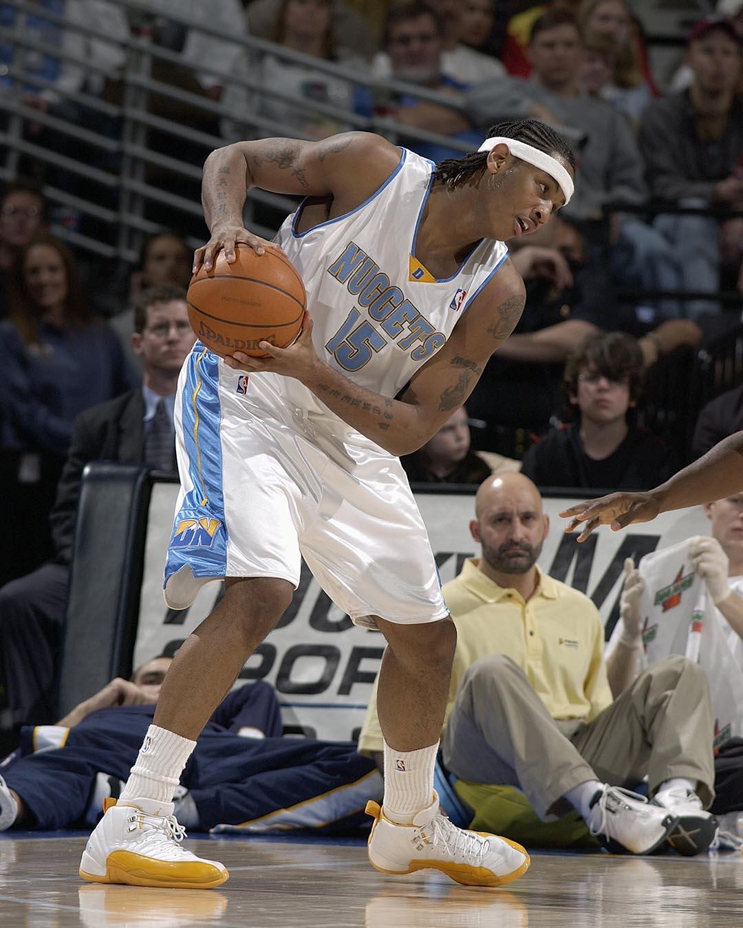 Carmelo Anthony + Air Jordan 12 PE