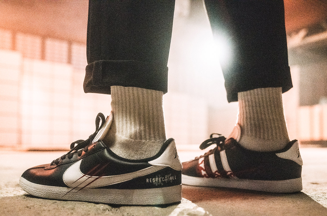 Custom Nike Cortez x adidas Gazelle