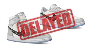 The Dior x Air Jordan Collection is Postponed