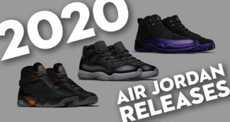 Every Air Jordan Retro Release for 2020