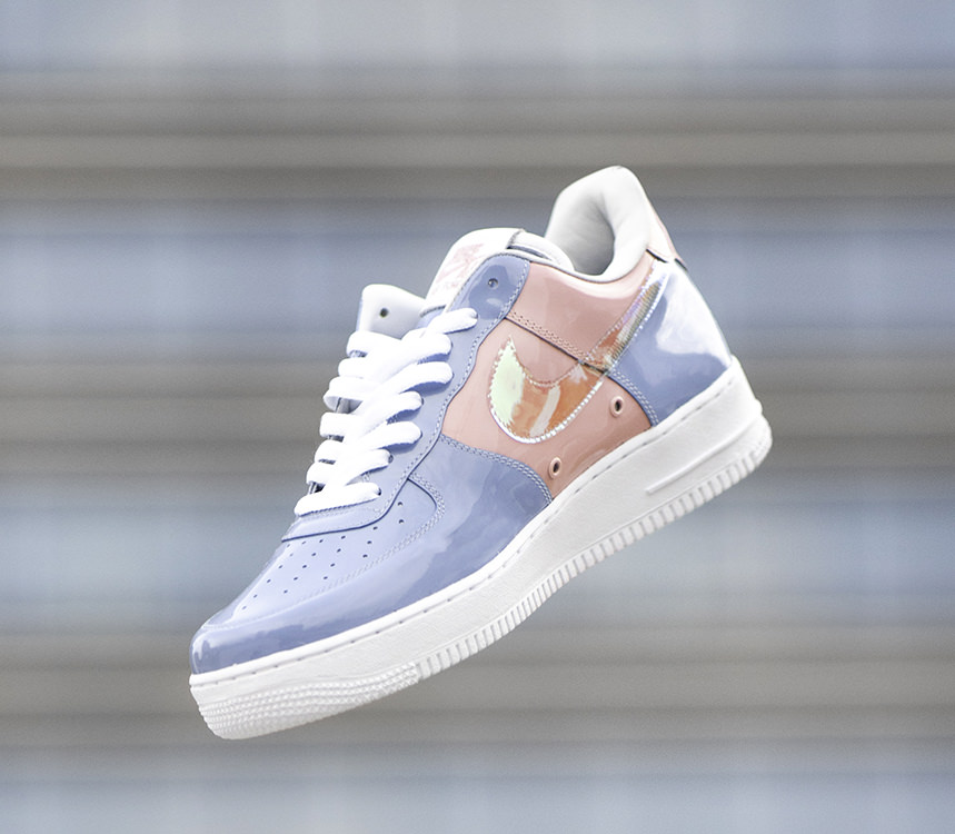Custom Nike Air Force 1 Gets A Clean Pastel Makeover Nice Kicks
