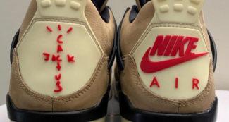 "Custom Travis Scott x Air Jordan 4 ""Cactus Jack"" is a Flex"