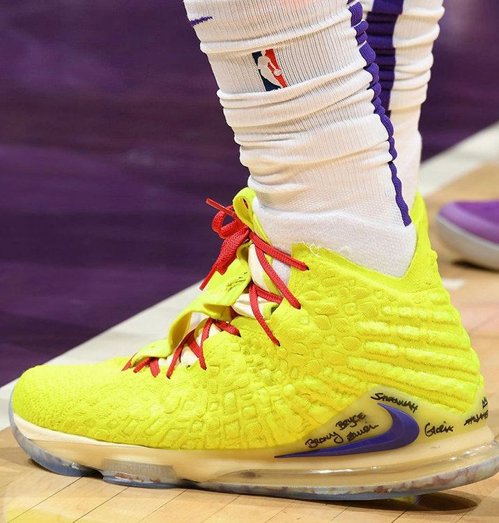 unique design clearance prices big sale The King Puts on a Show in an All-New Nike LeBron 17 PE | Nice Kicks