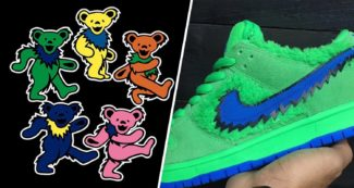 First Look at the Grateful Dead Bears-Inspired Nike SB Dunk Low