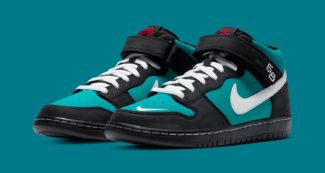 "Upcoming Nike SB Dunk Mid Pro ""Griffey"" is a Certified Home Run"
