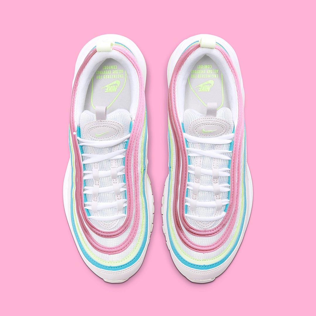 Nike WMNS Air Max 97 White/Barely Volt/Platinum Tint CW7017-100