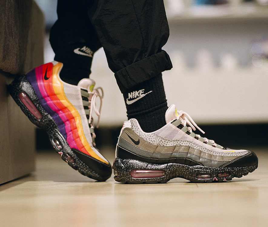 How The Size X Nike Air Max 95 20 For 20 Looks On Foot Nice Kicks