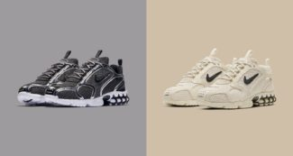 The Stüssy x Nike Air Zoom Spiridon Caged Releases This Week