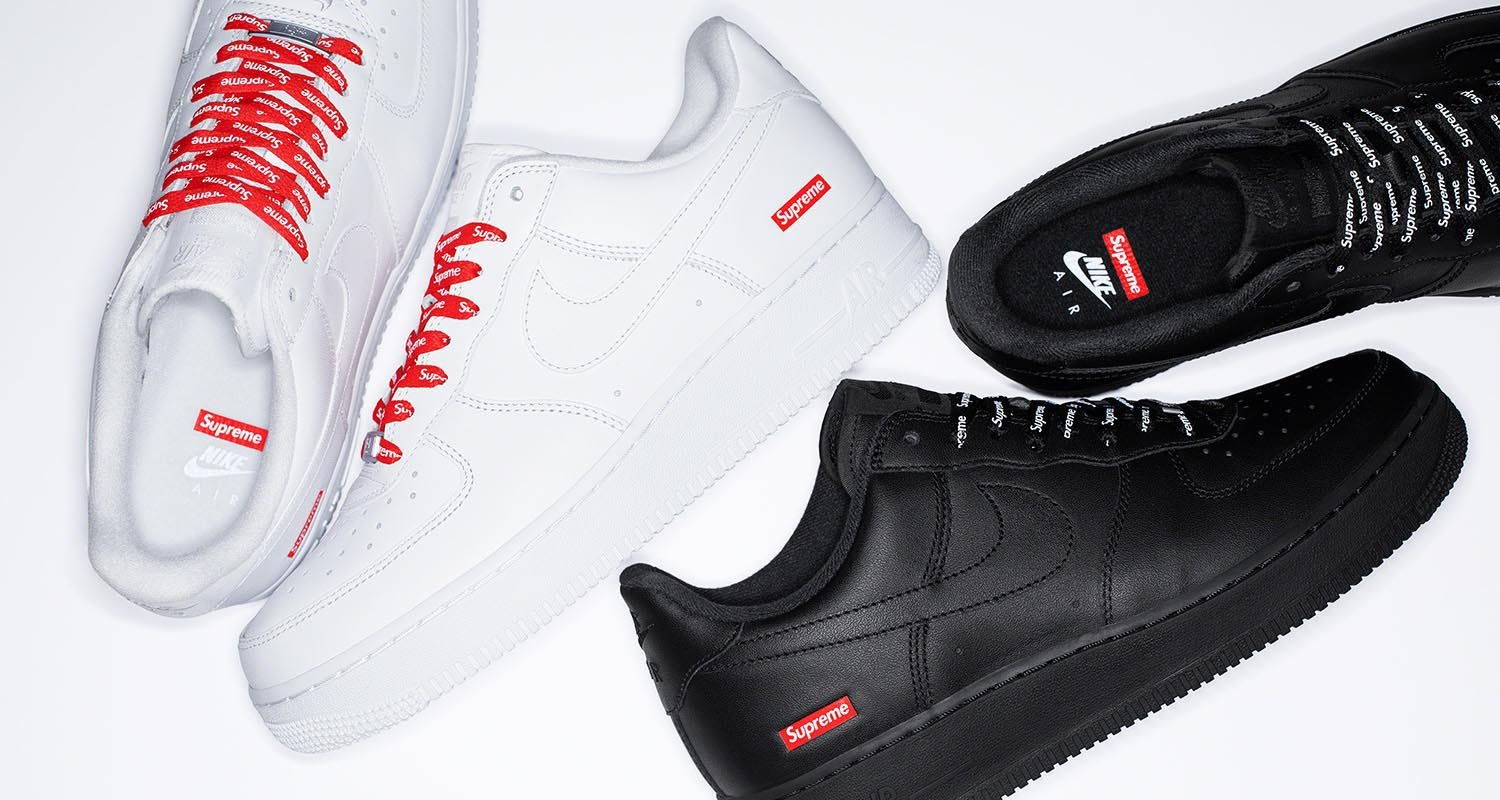 Supreme x Nike Air Force 1 Low Release