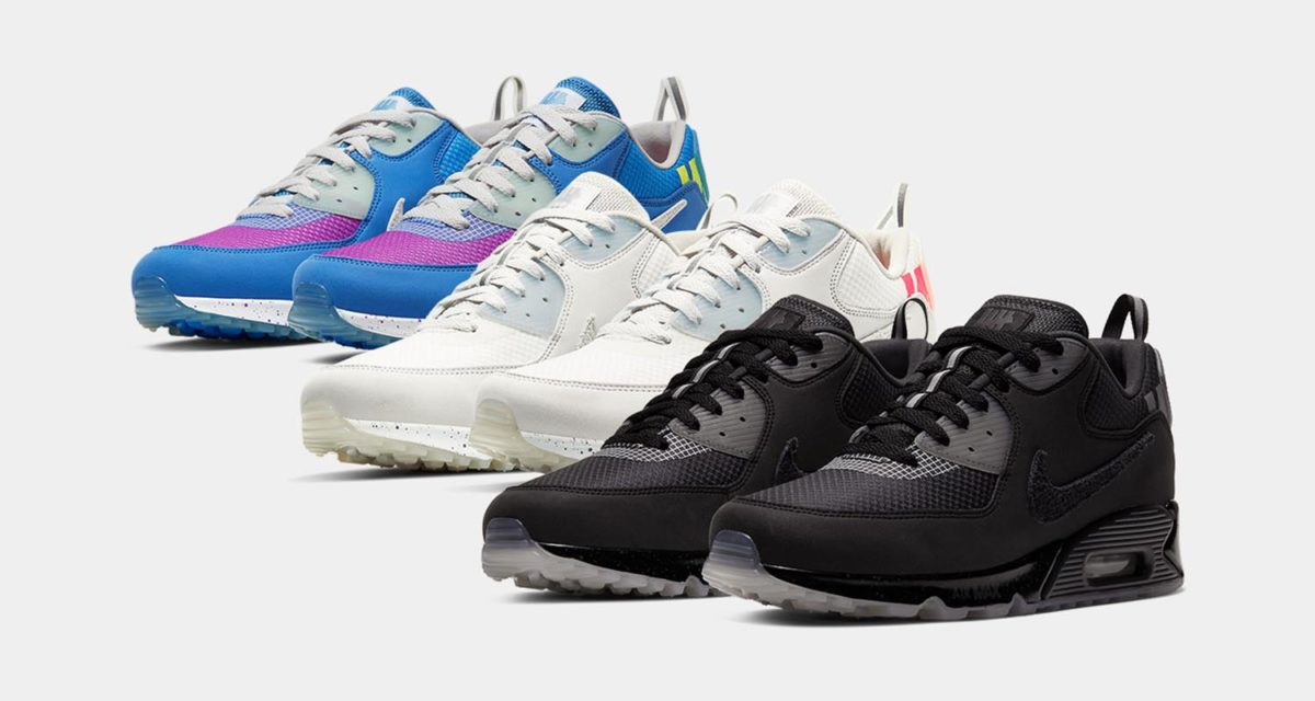 Official Look UNDFTD x Nike Air Max 90 Pack | Nice Kicks