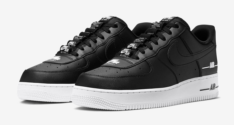 "Adicto Sentido táctil Salto  Nike Air Force 1 ""Double AIR"" Pack CJ1379-001 CJ1379-101 CJ1379-600 Release  Date | Nice Kicks"