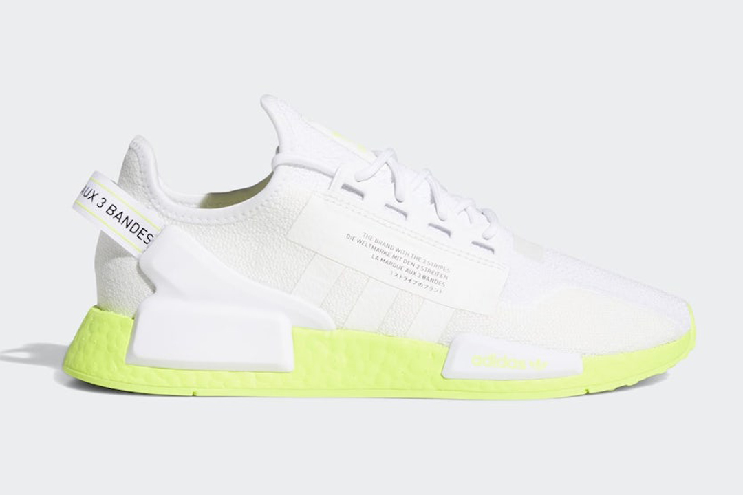 Adidas Nmd R1 V2 Volt Boost Fx3903 Release Date Nice Kicks