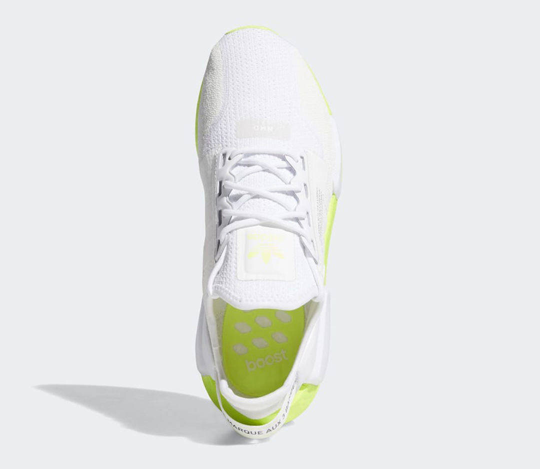 Adidas Nmd R1 V2 Volt Boost Fx3903 Release Date Nice Kicks