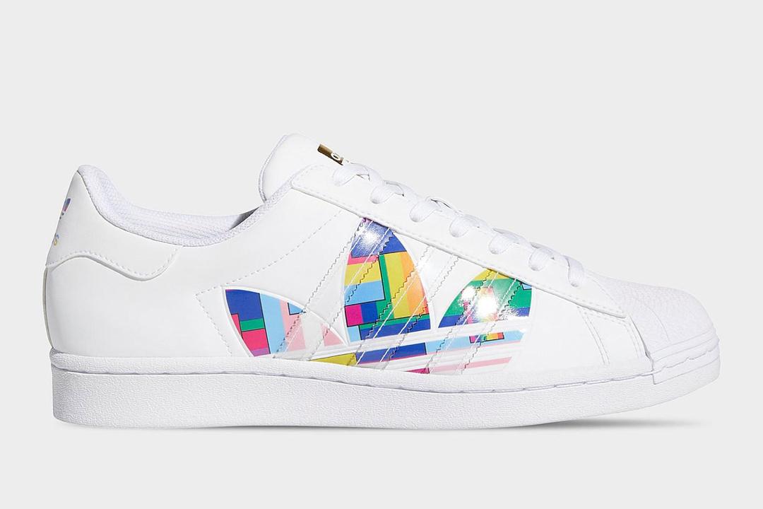 adidas superstar rainbow