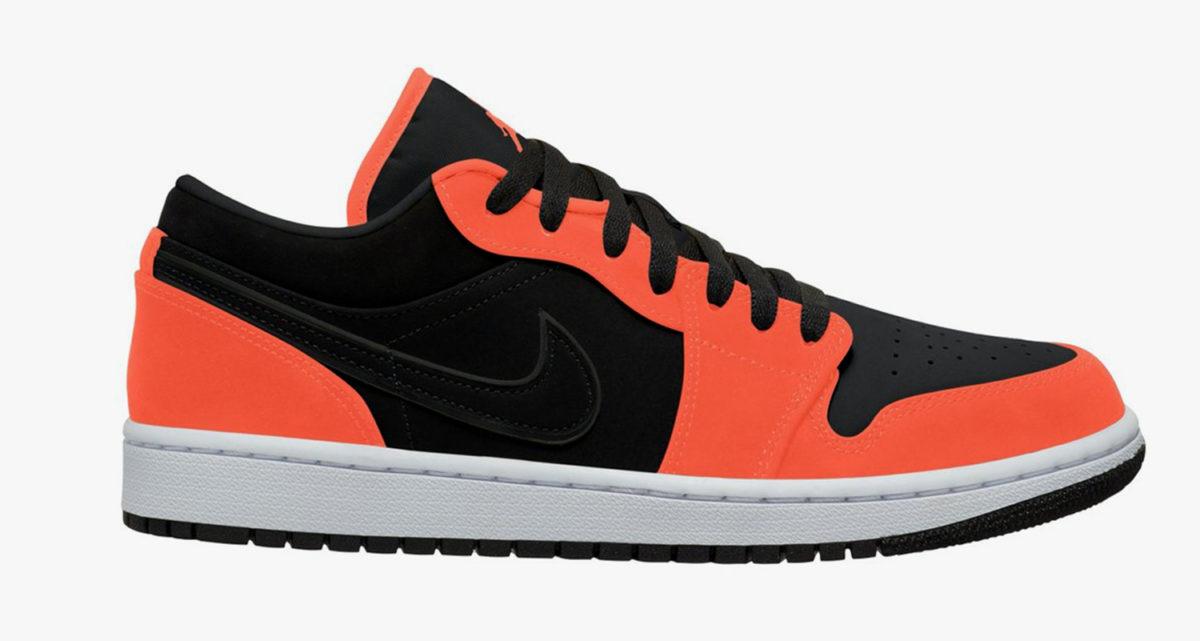 jordan 1 neon orange