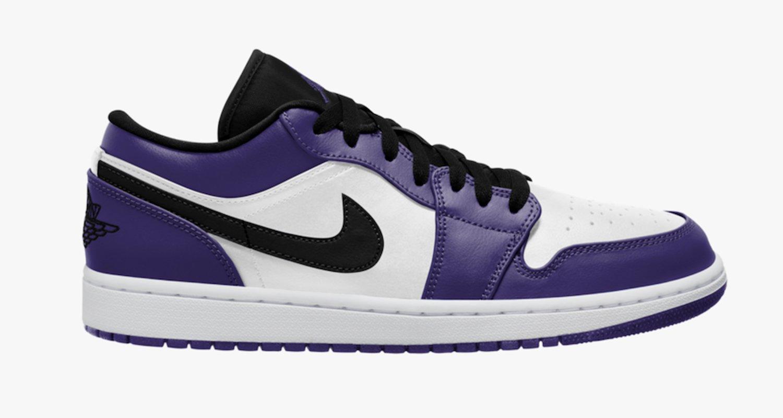 air jordan 1 low purple