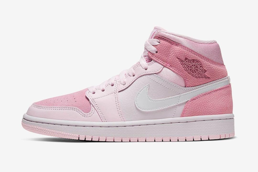 all pink air jordans