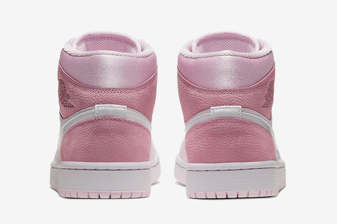 Air Jordan 1 Mid Digital Pink Cw5379 600 Release Date Nice Kicks