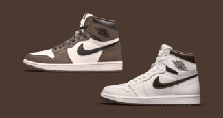 """Dark Mocha"" Colorway Reappears on Two Air Jordan Ones"