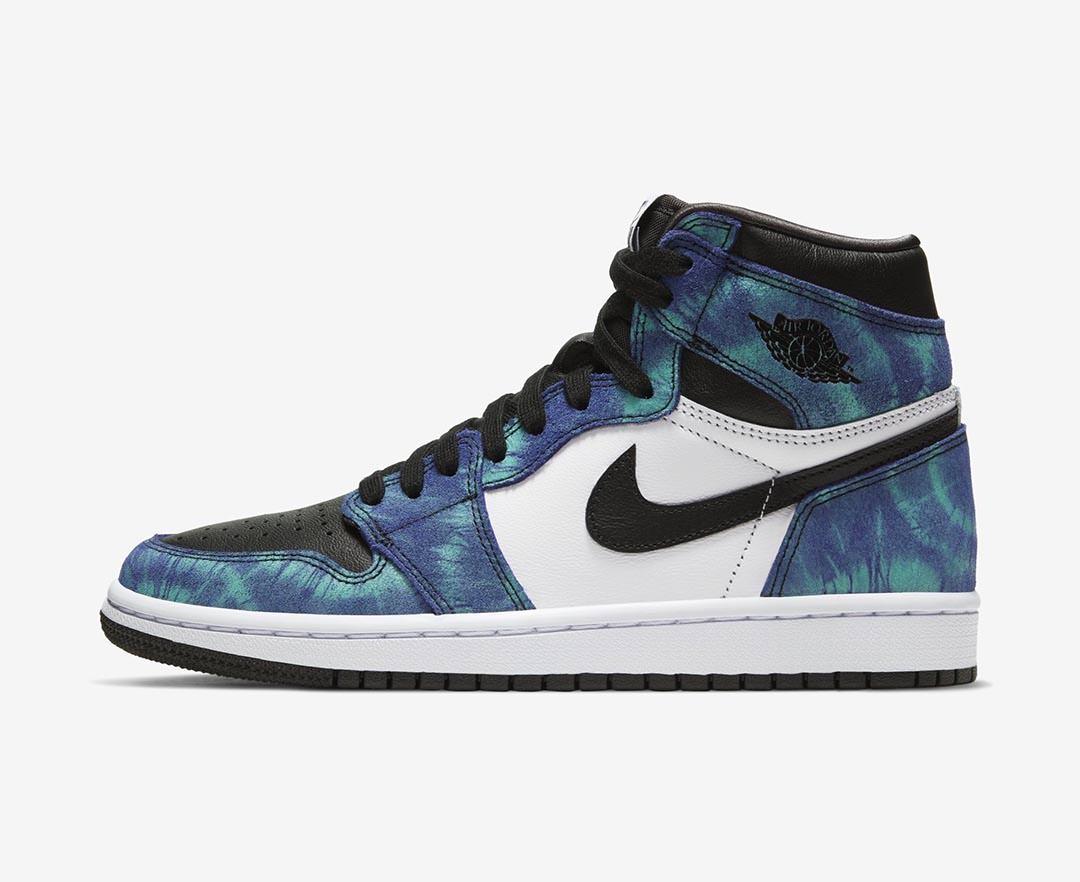 Where To Buy The Womens Tie Dye Air Jordan 1 Retro Nice Kicks