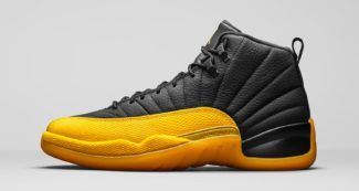 "Official Look // Air Jordan 12 ""University Gold"""