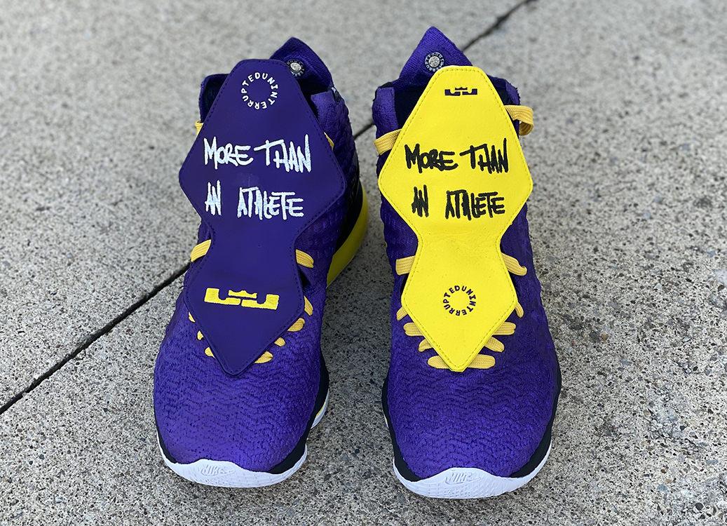 Custom Nike LeBron 17 \