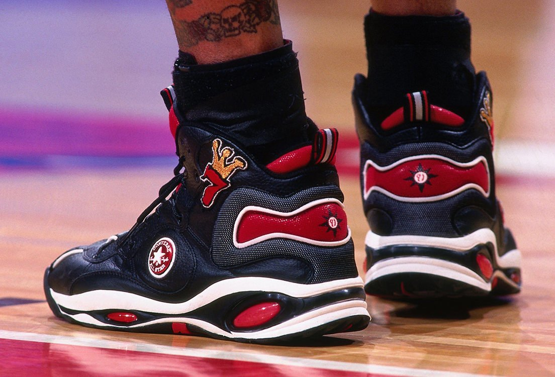 Four Dennis Rodman Sneakers We Want